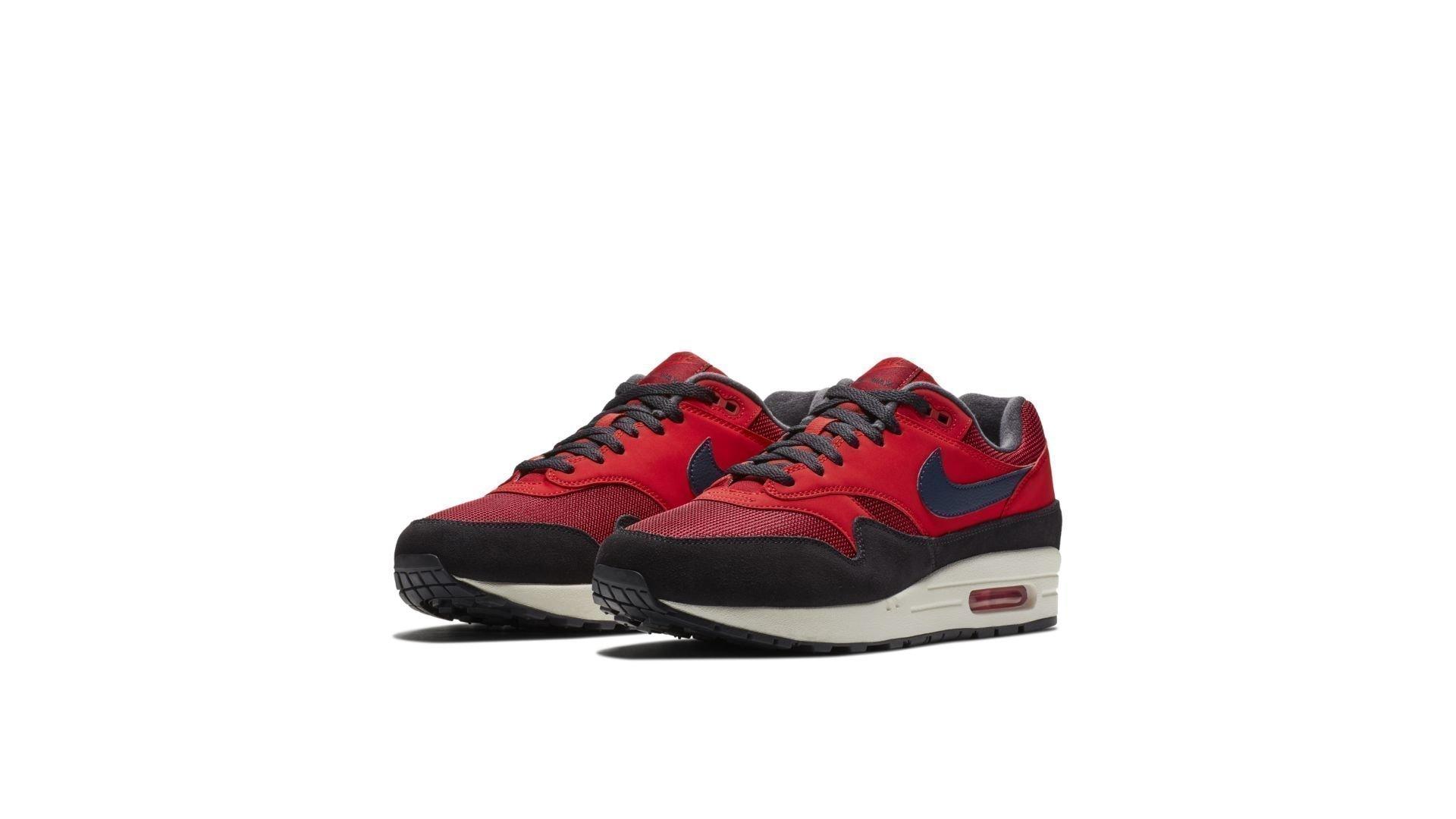 Nike Air Max 1 'Red Black' (AH8145-600)