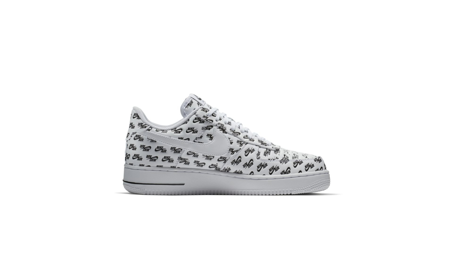 "Nike Air Force 1 '07 QS Logo Pack ""White"" (AH8462-100)"