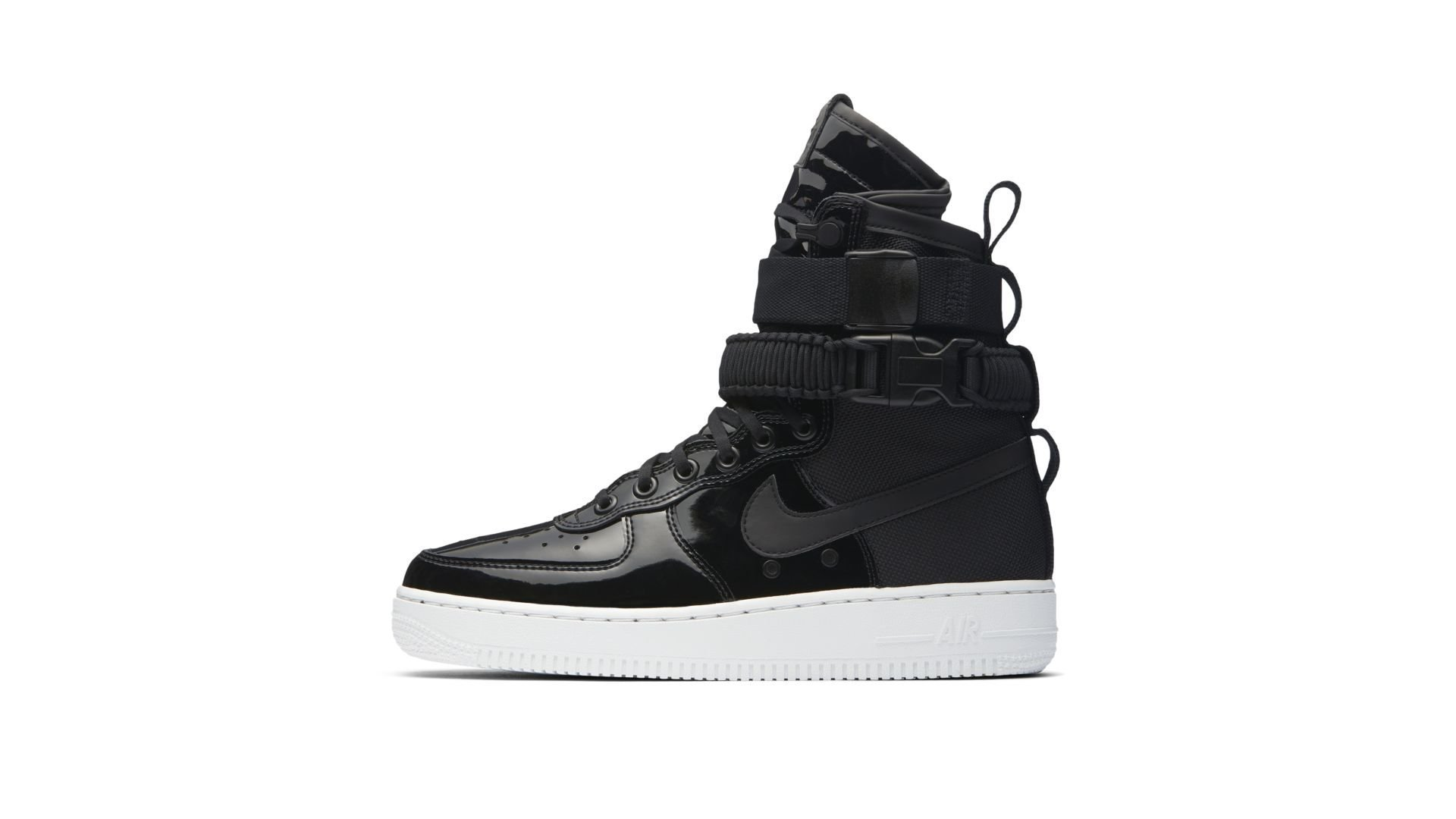 Nike Special Field Air Force 1 Black Patent (AJ0963-001)