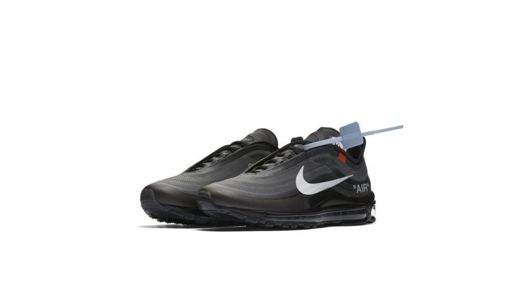 Off-White X Nike Air Max 97 'Black' (AJ4585-001)