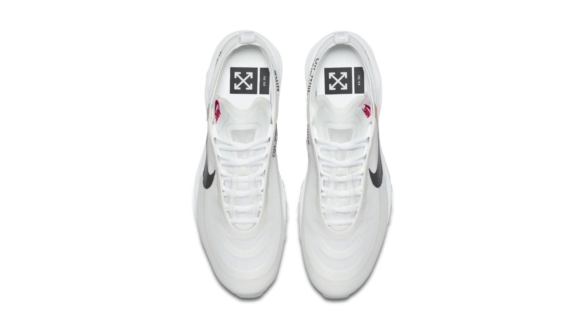 Nike The Ten Air Max 97 'Off White' (AJ4585_100)