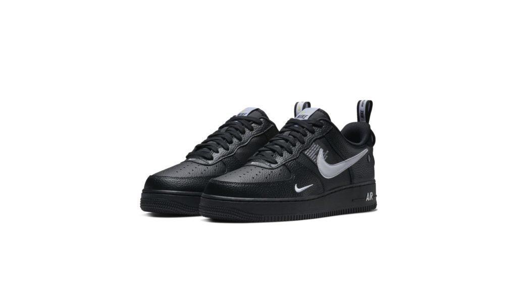 Nike Air Force 1 '07 LV8 Utility 'Black' (AJ7747-001)