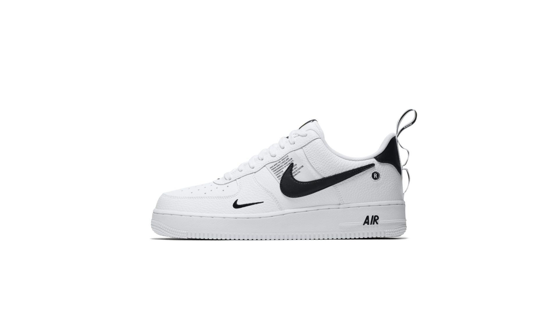 Nike Air Force 1 '07 LV8 Utility 'White' (AJ7747-100)