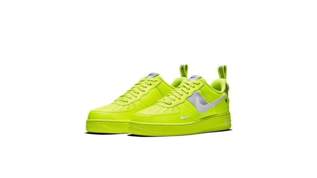 Nike Air Force 1 '07 LV8 Utility 'Volt' (AJ7747-700)
