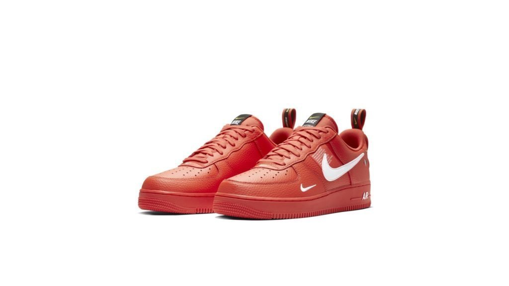 Nike Air Force 1 '07 LV8 Utility 'Team Orange' (AJ7747-800)