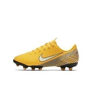 Nike Jr. Mercurial Vapor XII Academy Neymar Jr Voetbalschoen voor kleuters/kids (meerdere ondergronden) - Geel Geel