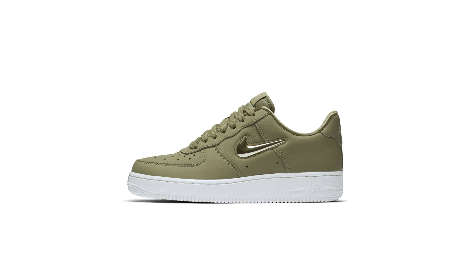 Nike Wmns Air Force 1 `07 Premium LX 'Olive' (AO3814-200)