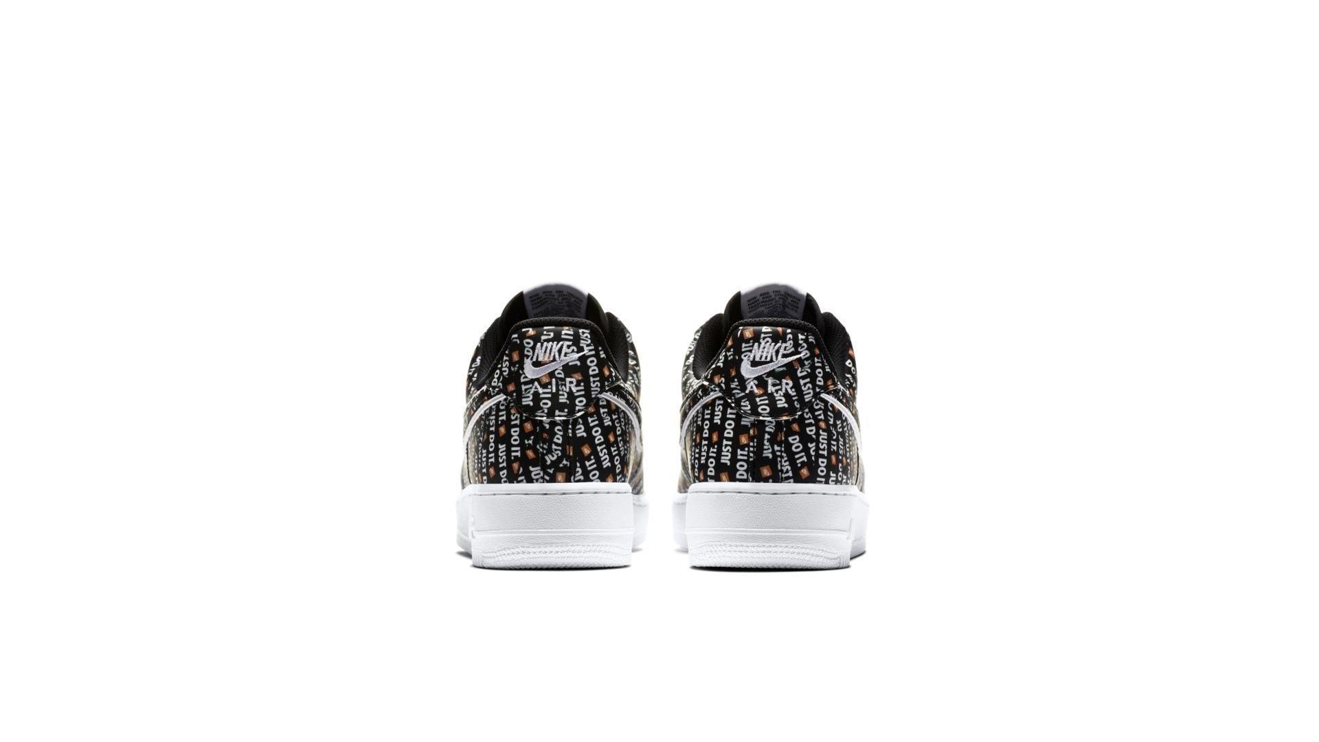 Nike Air Force 1 '07 LV8 'Black' (AO6296-001)