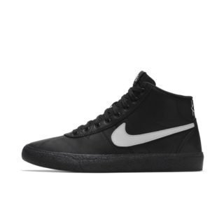 Nike SB Bruin Hi Skateschoen voor dames - Zwart Zwart