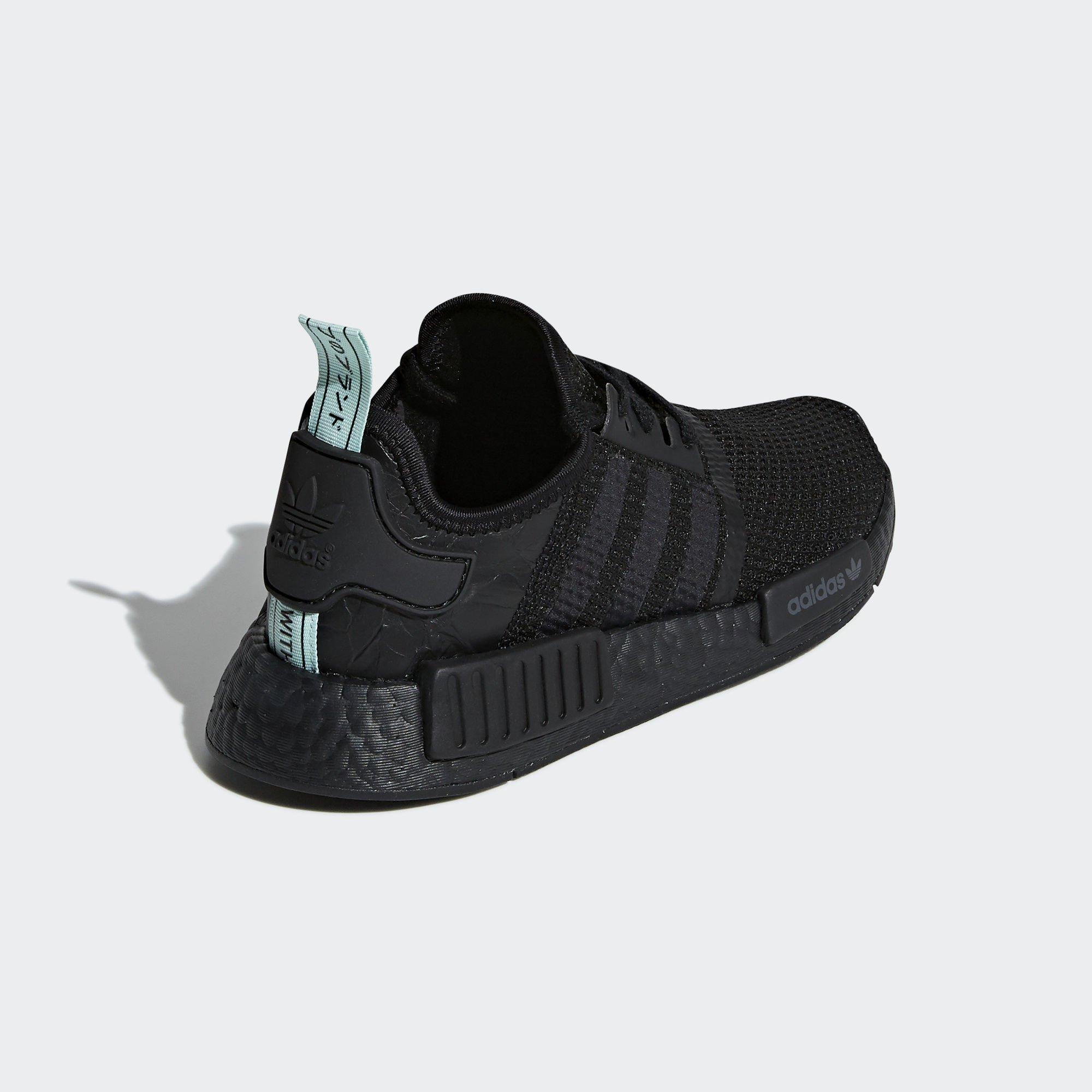 adidas Womens NMD R1 'Black Mint'  (AQ1102)