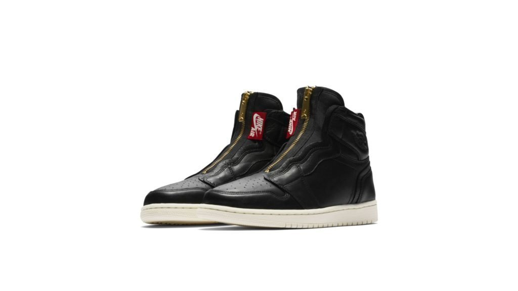 Air Jordan 1 High Zip 'Black' (AQ3742-016)