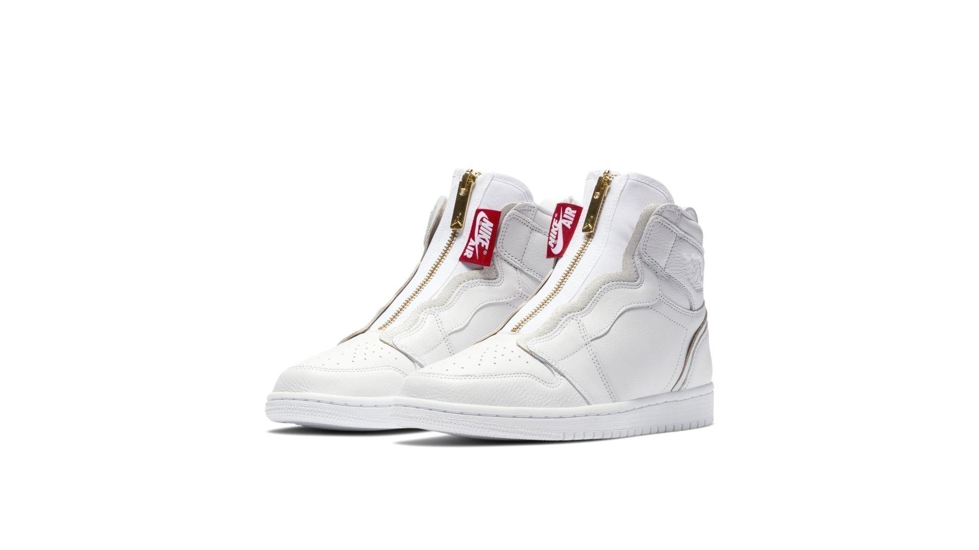 Air Jordan 1 High Zip 'White' (AQ3742-116)