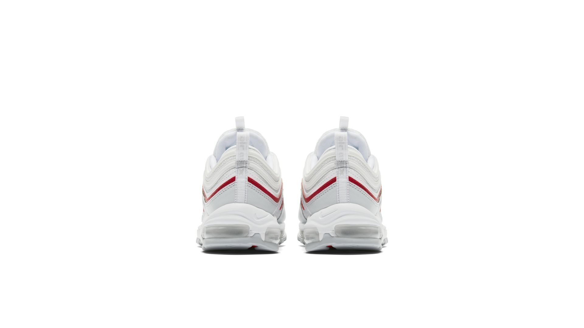 Nike Air Max 97 OG 'Pure Platinum/University Red' (AR5531-002)