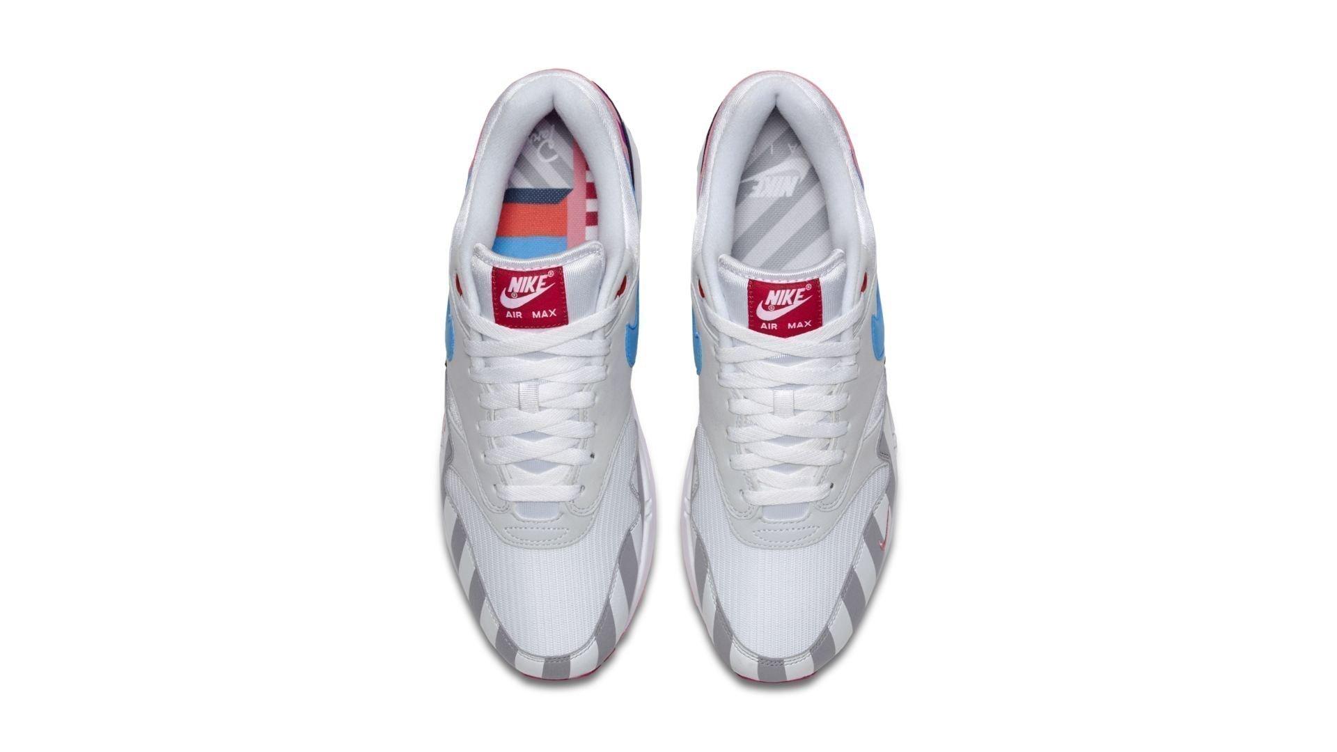 Nike Air Max 1 x Parra 'White/Multi color' (AT3057-100)