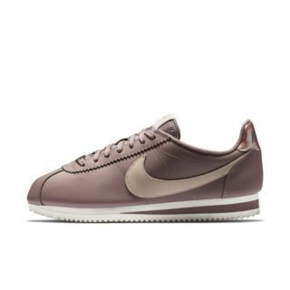 Nike Classic Cortez Leather Damesschoen - Paars Paars