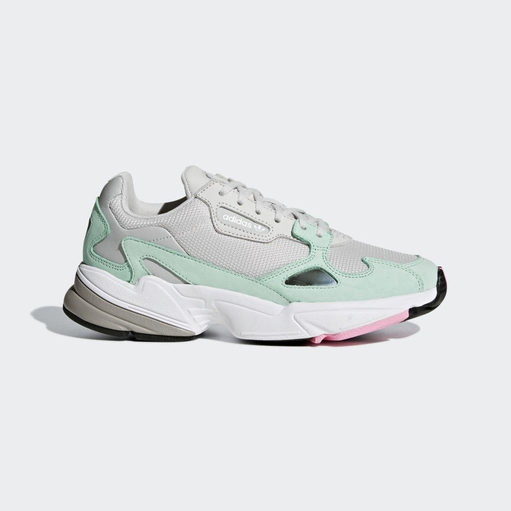 adidas Falcon W 'Grey One/Green' ()