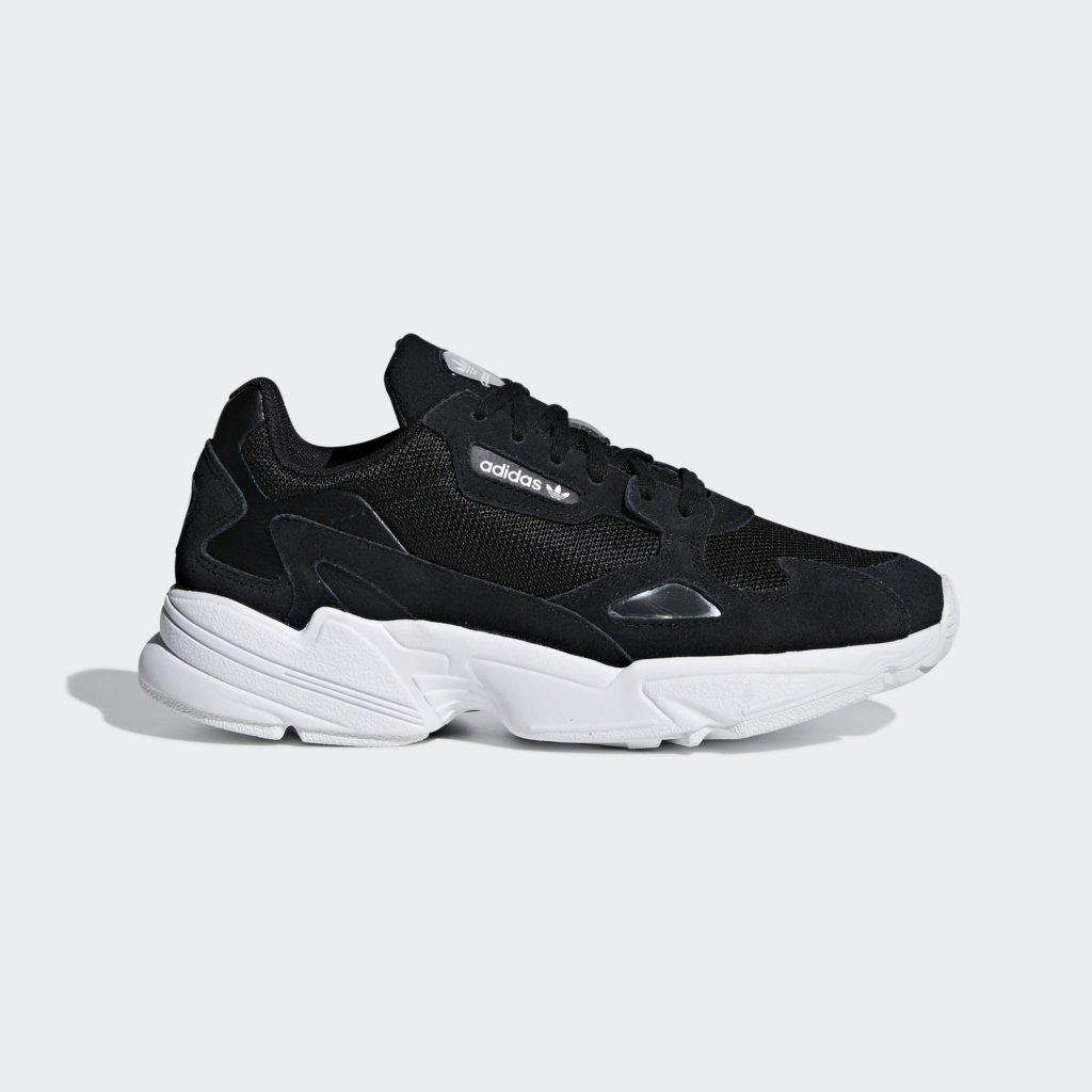 adidas Originals Falcon W 'Core Black' (B28129)