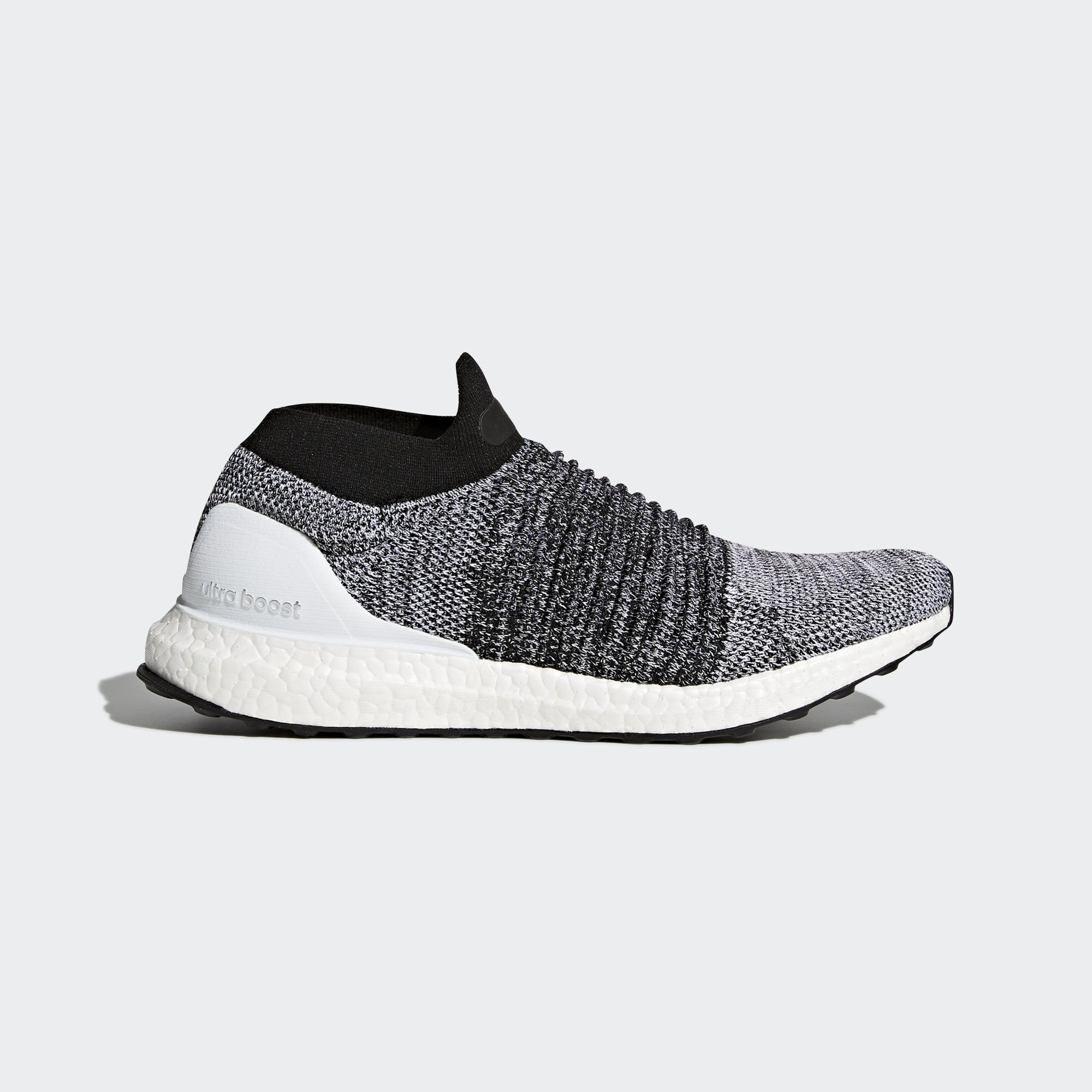 adidas Ultra Boost Laceless Black White (BB6141)