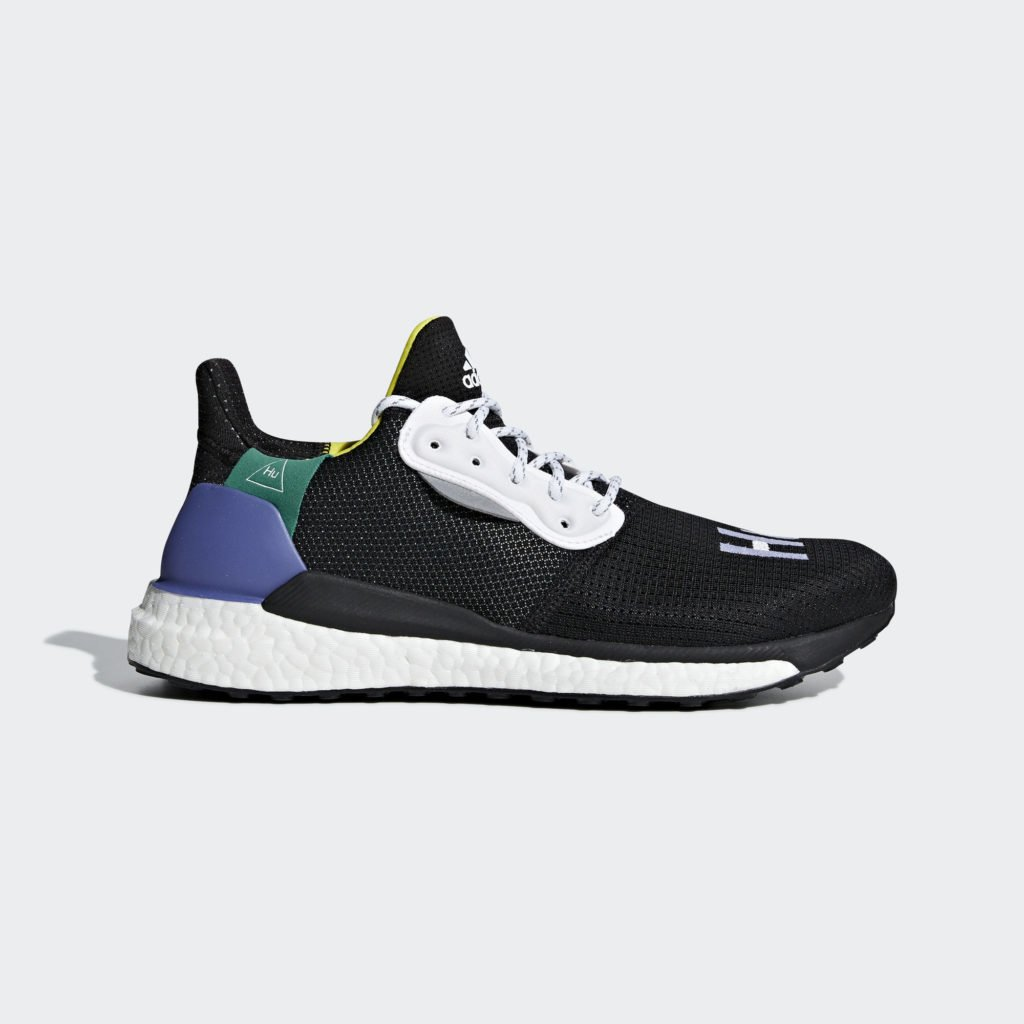 adidas Pharrell Williams Solar Hu Glide 'Core Black' (BB8041)