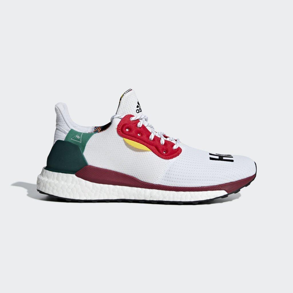 adidas Pharrell Williams Solar Hu Glide 'Footwear White' (BB8044)
