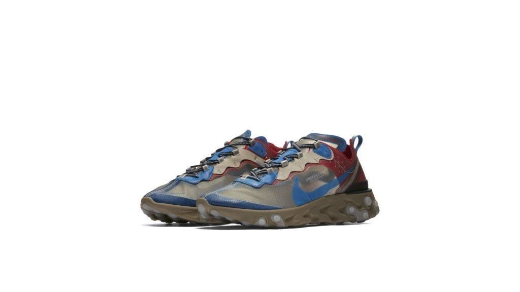 UNDERCOVER X Nike React Element 87 'Light Beige' (BQ2718-200)