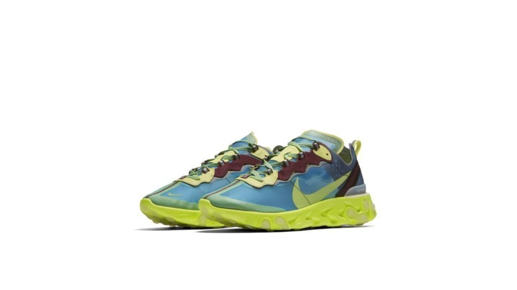 Nike React Element 87 X UNDERCOVER 'Electric Yellow' (BQ2718-400)
