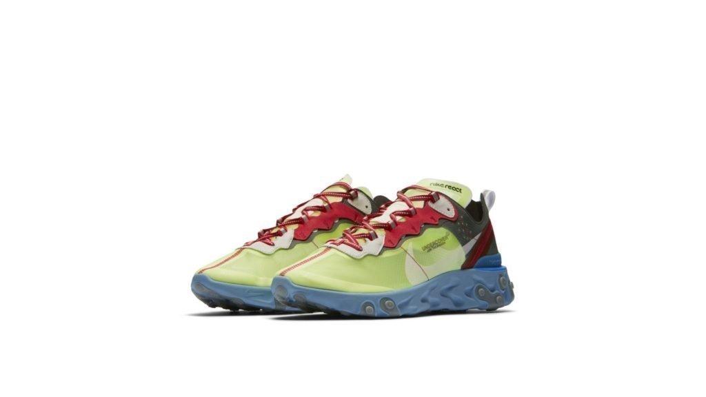 UNDERCOVER X Nike React Element 87 'Volt' (BQ2718-700)