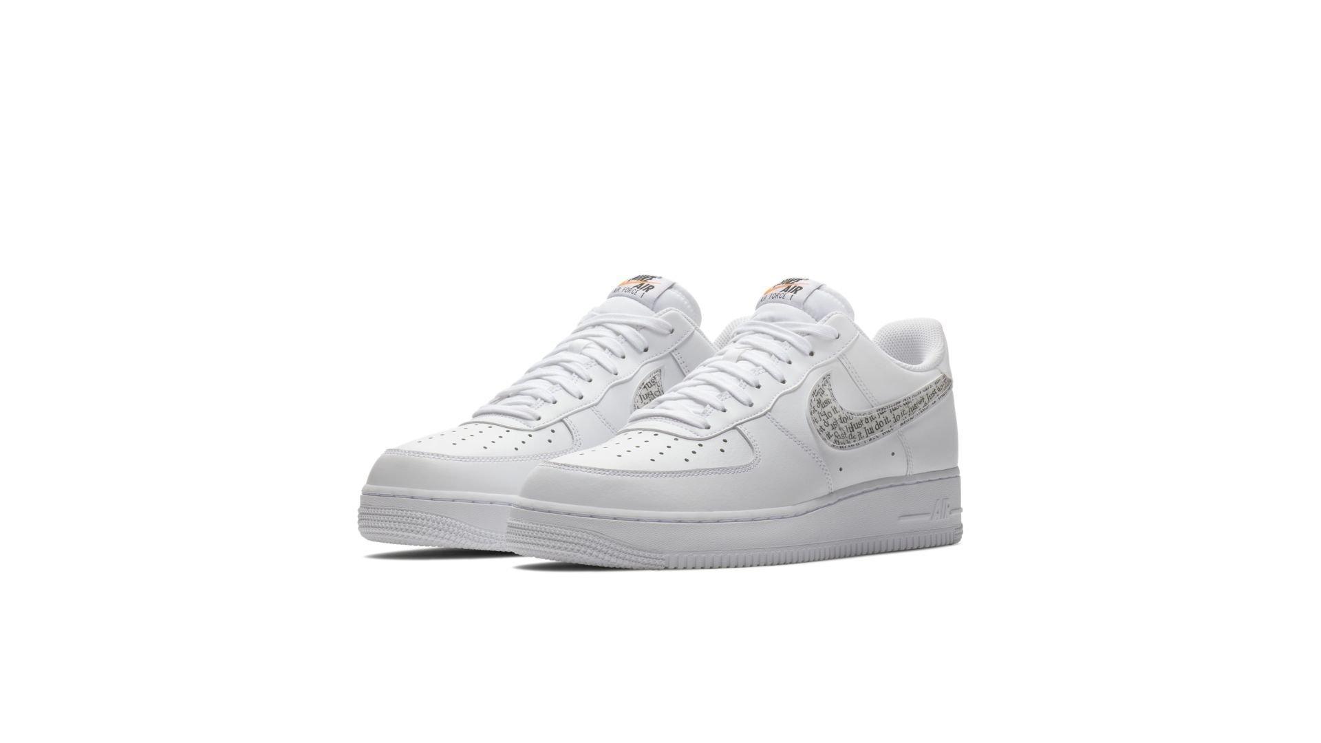 Nike Air Force 1 '07 LV8 'Just Do It' (BQ5361-100)