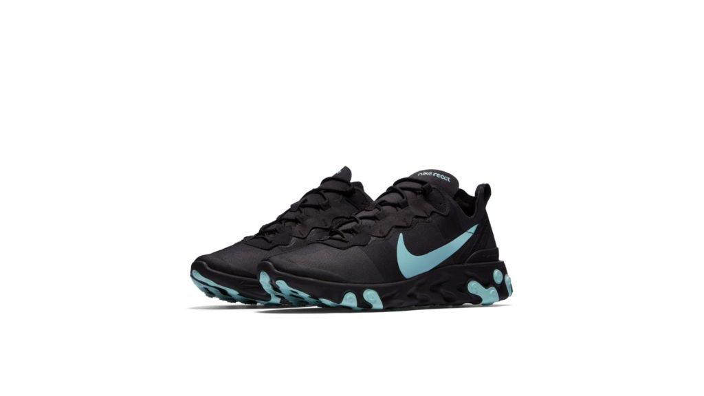 Nike React Element 55 'Black/Teal' (BQ6166-004)
