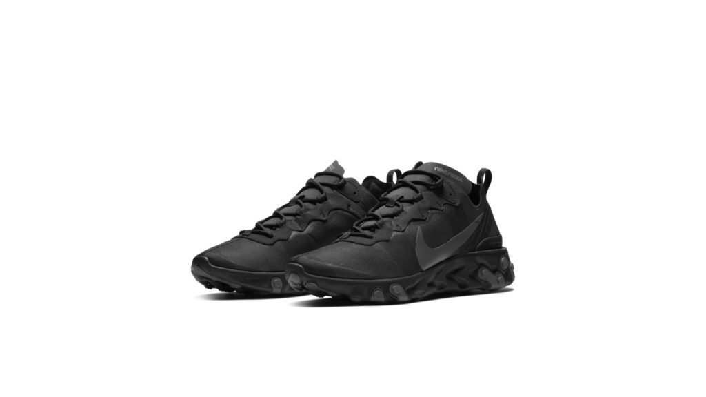 Nike React Element 55 'Triple Black' (BQ6166-008)