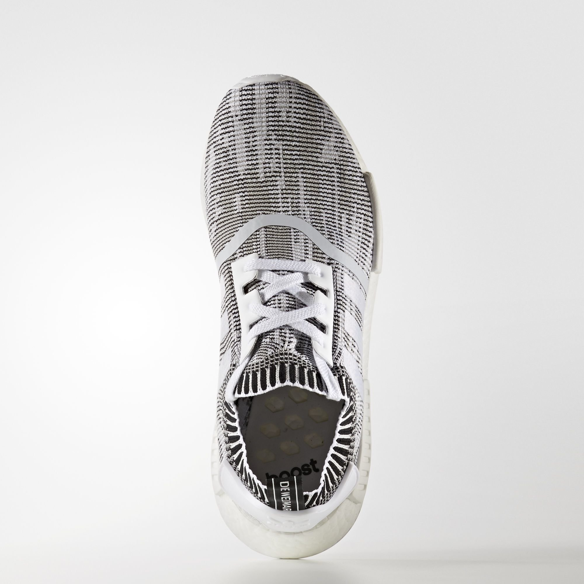 adidas NMD R1 Primeknit Glitch Camo Grey (BY1911)