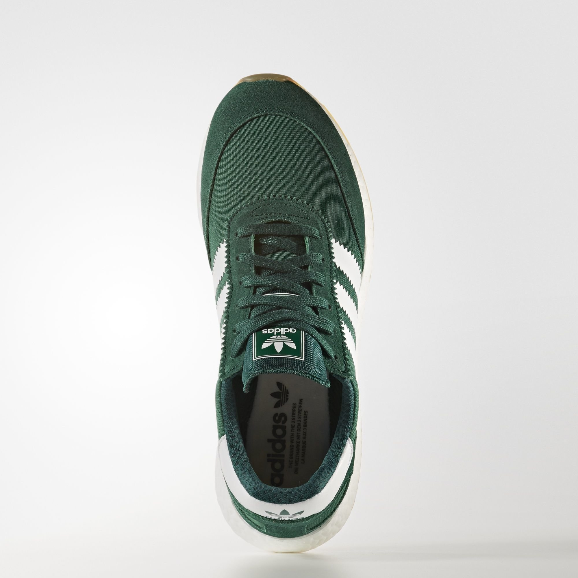 adidas Iniki Runner Boost Green White (BY9726)