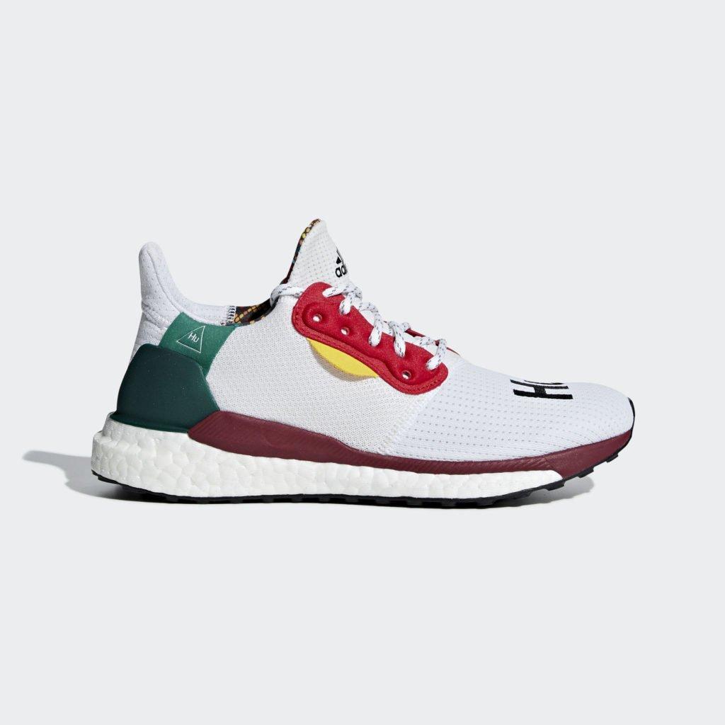 adidas Womens Pharrell Williams Solar Hu Glide 'Footwear White' (CG6776)