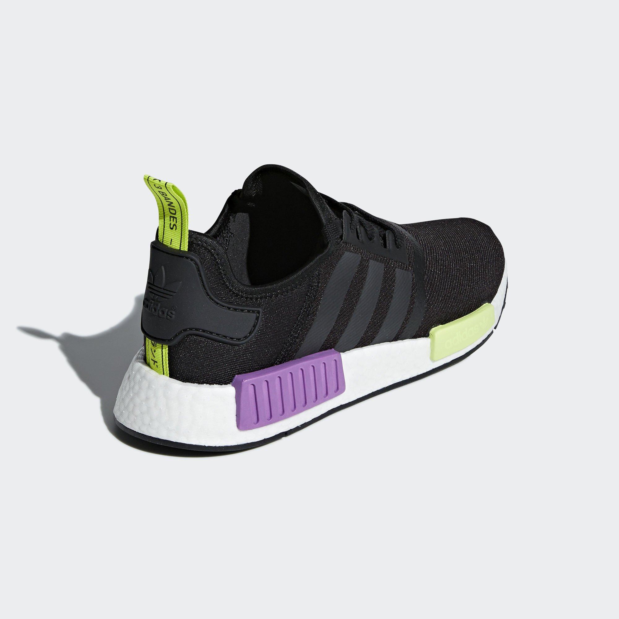 adidas NMD_R1 'Black/Purple Shot' (D96627)
