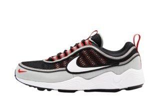 Nike Air Zoom Spiridon '16 (zwart/wit/grijs/rood)