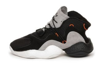 adidas Crazy BYW LVL 1 (Core Black / Orange / Hi-Res Red)