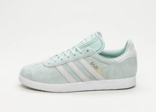 adidas Gazelle W (Ash Green / Ftwr White / Blue Tint)