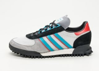 adidas Marathon TR (Grey Heather / Clear White / Core Black)