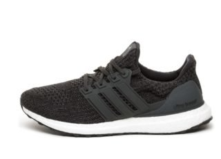 adidas Ultra Boost (Carbon / Carbon / Ftwr White)
