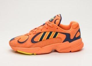 adidas Yung-1 (Hi-Res Orange / Hi-Res Orange / Shock Yellow)