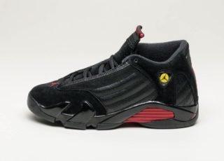 Nike Air Jordan 14 Retro (GS) *Last Shot* (Black / Varsity Red - Black
