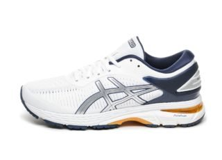 Asics x Naked Gel-Kayano 25 (White / Peacoat)