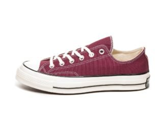 Converse Chuck Taylor All Star '70 OX (Dark Burgundy / Black / Egret)