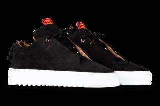 Mason Garments Milano – Nubuck RAF – Black (FW18)