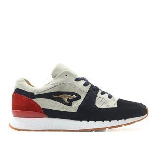 KangaROOS Coil-R1 Made in Germany Playmaker (dunkelblau / hellgrau / rot)