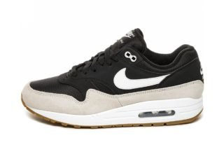 Nike Air Max 1 (Black / White - Light Bone)