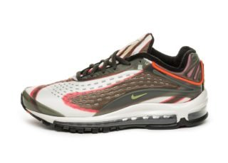 Nike Air Max Deluxe (Sequoia / Camper Green - Team Orange - Black)