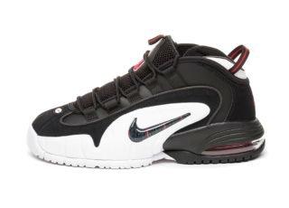 Nike Air Max Penny (Black / Black - White - University Red)
