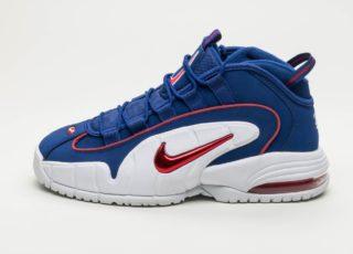 Nike Air Max Penny (Deep Royal Blue / Gym Red - White)