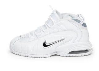 Nike Air Max Penny (White / White - Metallic Silver)